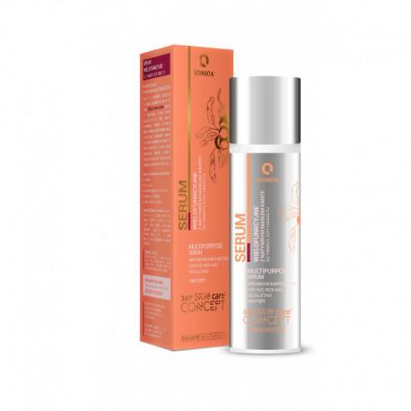Wielofunkcyjne Serum do twarzy szyi i dekoltu 30 ml SQINIQA