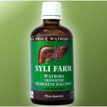 Syli Farm Preparat Syli Farm na bazie ostropestu i karczocha wspomaga pracę wątroby wspomaga trawienie