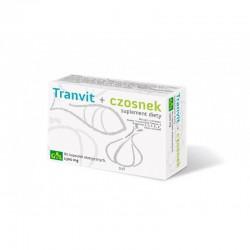 Tranvit + czosnek Suplement diety Tran Czosnek Witaminy Tranvit + czosnek