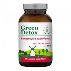 Green Detox Koktajl Oczyszczający Green Detox 90g
