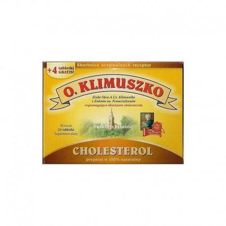 Tabletki Cholesterol Ojca Klimuszko