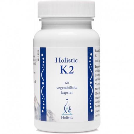 Holistic K2 Witamina K2 MK7 Natto Witamina K2 Holistic Witamina K2 Menachinon – 7 K2 MK7 K2 MK-7 60 kapsułek