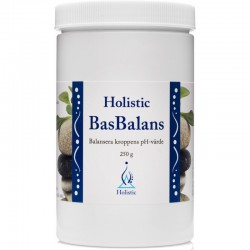 Holistic BasBalans alkaliczne związki mineralne zasadowe równowaga kwasowo-zasadowa cynk magnez potas