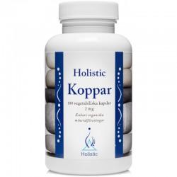 Holistic Koppar Miedź organiczna organiczne związki miedzi glukonian miedzi cytrynian miedzi łatwo przyswajalne
