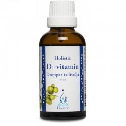 Holistic D3-vitamin Droppar i olivolja witamina D3 z lanoliny cholekalcyferol d-alfa-tokoferol witamina E ekologiczna oliwa