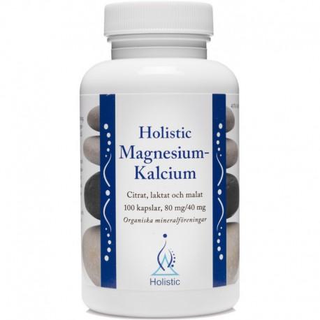 Holistic Magnesium-Kalcium magnez wapń organiczne związki magnezu wapnia jabłczan cytrynian mleczan magnezu i wapnia