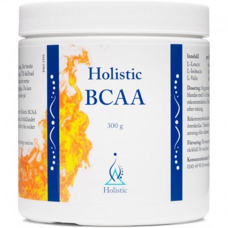 Holistic BCAA aminokwasy L-leucyna L-izoleucyna L-walina zestaw trzech rozgałęzionych aminokwasów 300 g