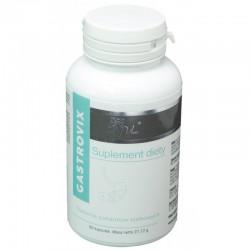 GASTROVIX Trawienie pokarmów białkowych enzymy papaina bromelaina i chlorella Chlorella vulgaris