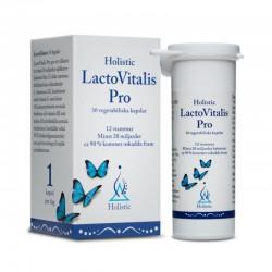 Holistic LactoVitalis PRO probiotyk dobre bakterie kwasu mlekowego ryboflawina B2 witamina C probiotyczne bakterie 12 szczepów
