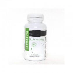 Alergovix - suplement diety na alergię ostryż długi pachnotka zwyczajna kłącze imbiru lekarskiego 60 tabletek