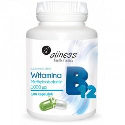 Witamina B12 Methylcobalamin 1000µg x 100 kapsułek Metylokobalamina