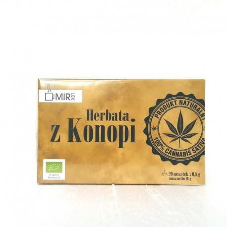 Herbata z Konopi EKO 20 saszetek