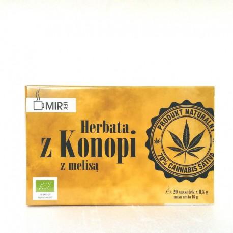 Herbata z Konopi i melisy EKO 20 saszetek