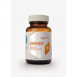 Ginger 90 kapsułek Imbir standaryzowany ekstrakt z Imbiru WYPRZEDAŻ