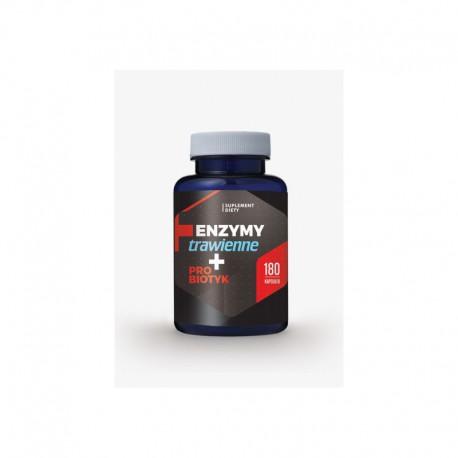 Enzymy trawienne + probiotyk 180 kapsułek