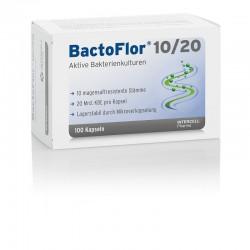 BactoFlor 10/20 100 kapsułek Probiotyk prebiotyk aktywne kultury bakterii