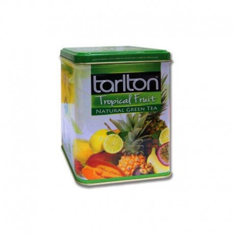 TARLTON Tropical Fruit 250g Herbata zielona owoce tropikalne