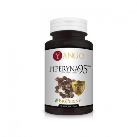 Piperyna 95™ - 90 kapsułek 25mg BioPerine BioPeryna