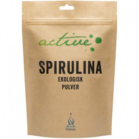 Holistic Spirulinapulver - Ekologiczna Spirulina w proszku organiczna Spirulina platensis