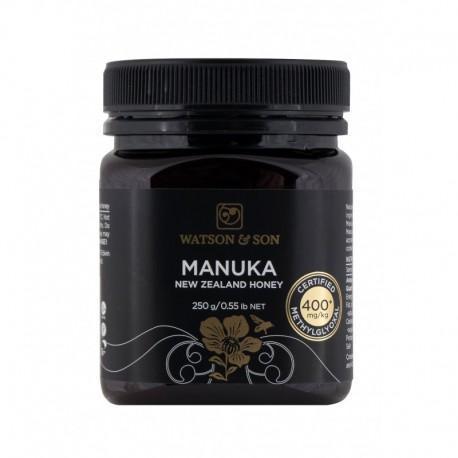Miód Manuka 250g MGO 400+ Watson & Son Miód z krzewu Manuka