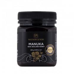 Miód Manuka 250g MGO 300+ Watson & Son Miód z krzewu Manuka