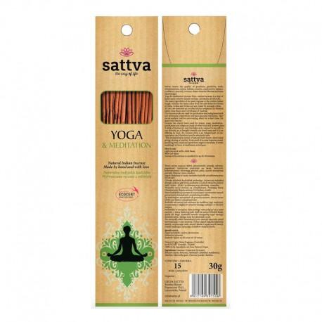 Kadzidła Yoga & Meditation Oryginalne indyjskie kadzidła joga i medytacja 15 sztuk