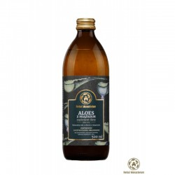 Naturalny sok z aloesu z miąższem 500ml Herbal Monasterium