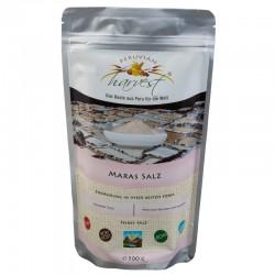 PH Sól maraska - różowa sól Inków (Maras Salz) - 500g PERUVIAN harvest® Maras Salz