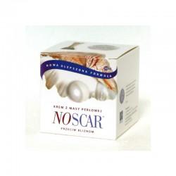NoScar Krem z Masy Perłowej 50 ml NoScar Krem przeciw Bliznom NoScar Wygładza Blizny NosCar Łagodzi Ślady Trądziku