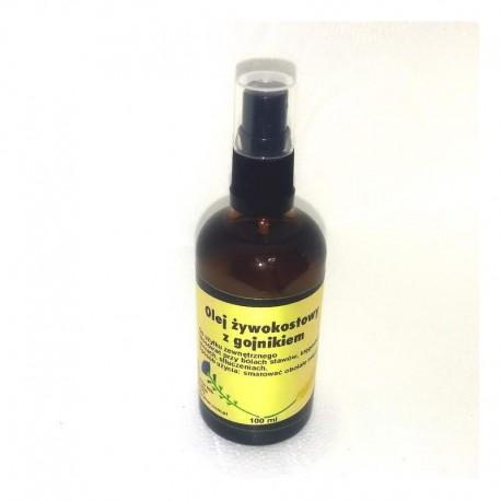 Olej żywokostowy z gojnikiem 100 ml Dozownik