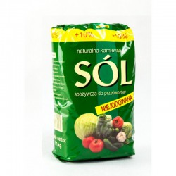 Sól kłodawska niejodowana 1,1kg naturalna kamienna Kopalnia Soli Kłodawa