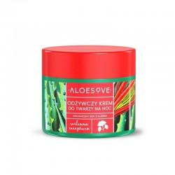 ALOESOVE Odżywczy krem do twarzy na noc 50 ml Sylveco ekstrakt z aloesu