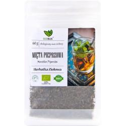 Mięta pieprzowa 60g EcoBlik herbatka ziołowa ekologiczna mentha piperita