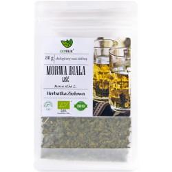 Morwa biała liść 80g EcoBlik herbatka ziołowa ekologiczna morus alba