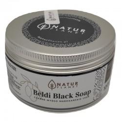 Czarne mydło marokańskie 100ml Natur Planet delikatny peeling całego ciała