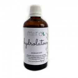 Hydrolatowy demakijaż 100ml MIRA rumianek pospolity szałwia lekarska Matricaria chamomilla Salviae Officinalis