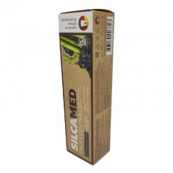 Pasta do zębów wybielająca z węglem bambusowym 100g SILCAMED