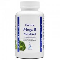 Holistic Mega B Metylerad - Witaminy metylowane z grupy B 90 kaps.