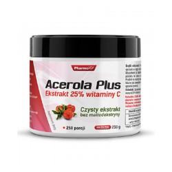 Acerola Plus 250g PharmoVit Ekstrakt 25% witaminy C