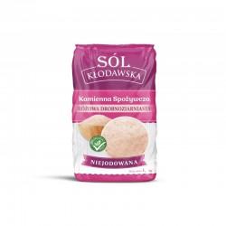 Sól Kłodawa różowa drobnoziarnista 1Kg  sól kłodawska