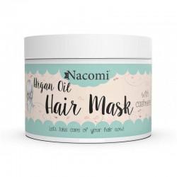 Maska arganowa do włosów i proteiny kaszmiru 200ml Nacomi