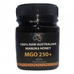 Miód Manuka Honey MGO 250+ 250g Australijski miód manuka Metyloglioksal Methylglyoxal