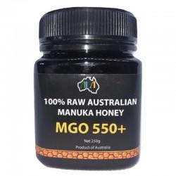 Miód Manuka Honey MGO 550+ 250g Australijski miód manuka Metyloglioksal Methylglyoxal