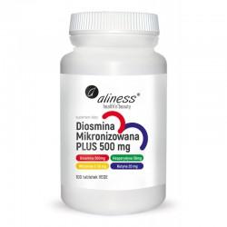 Diosmina mikronizowana PLUS 500 mg 100 tabl. Aliness Diosmina Hesperydyna  Witamina C  Rutyna