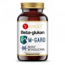 Beta glukan M-GARD 60 kaps. Yango Biotec Betaglucans Beta-1,3/1,6-D-glukan Saccharomyces cerevisiae
