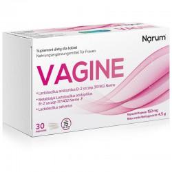 Narum Vagine 150 mg, 30 kaps. NarineLactobacillus acidophilus Er-2 szczep 317/402 Narine