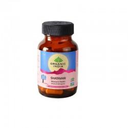 Shatavari 60 kaps. Organic India korzeń szparag lekarski Asparagus racemosus