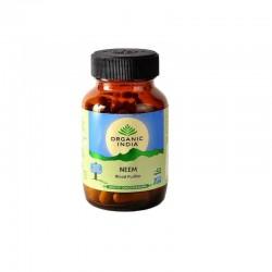 Neem 60 kaps. Organic India Owoce Neema Miodła indyjska Azadirachta indica