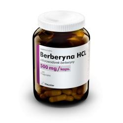 Berberyna HCL 500mg 60 kaps. Hauster chlorowodorek berberyny ekstrakt z berberysu