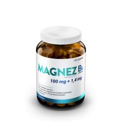 Magnez + B6  jony magnezu Mg2 150 tabletek Hauster cytrynian magnezu chlorowodorek pirydoksyny